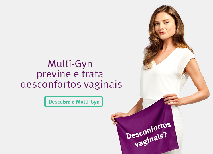 Multi-gyn previne e trata desconfortos vaginais